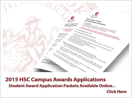 HSC campus awards application now available