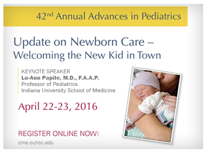 Advances in Pediatrics Lecture