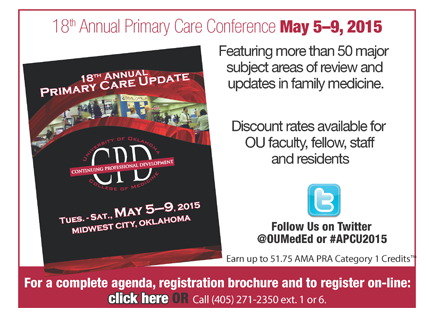 Primary Care Update 2015