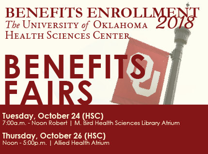 Benefits Fairs - Oct 23-26