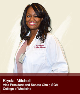 Krystal Mitchell Treasurer, SGA College of Medicine