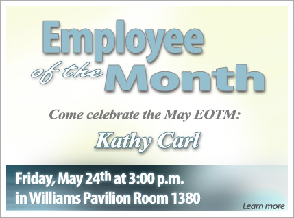 May Employee of the Month reception