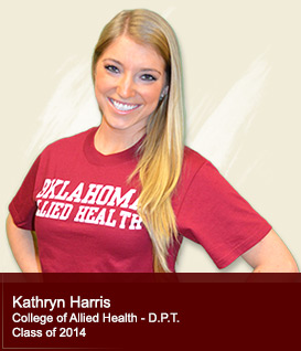 Kathryn Harris - College of Allied Health Class of 2014